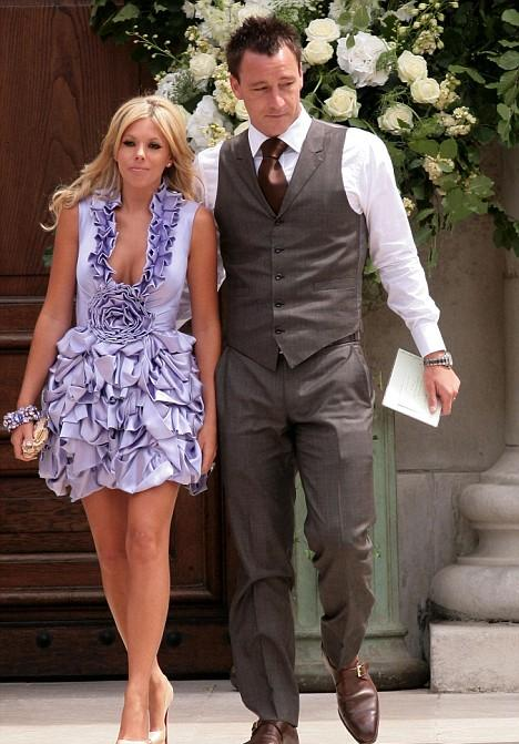 Former English John Terry and his wife Toni Terry
